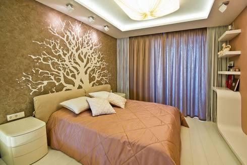 Квартира в Эко стиле: Спальни в . Автор – Студия дизайна