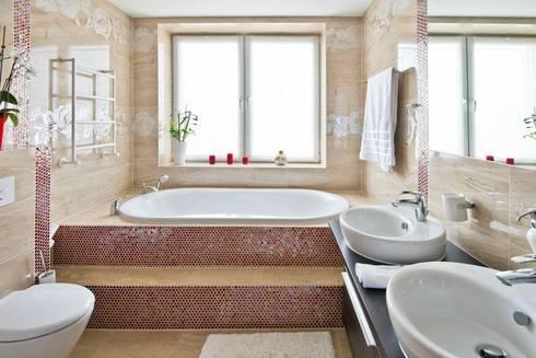 Квартира в Эко стиле: Ванные комнаты в . Автор – Студия дизайна