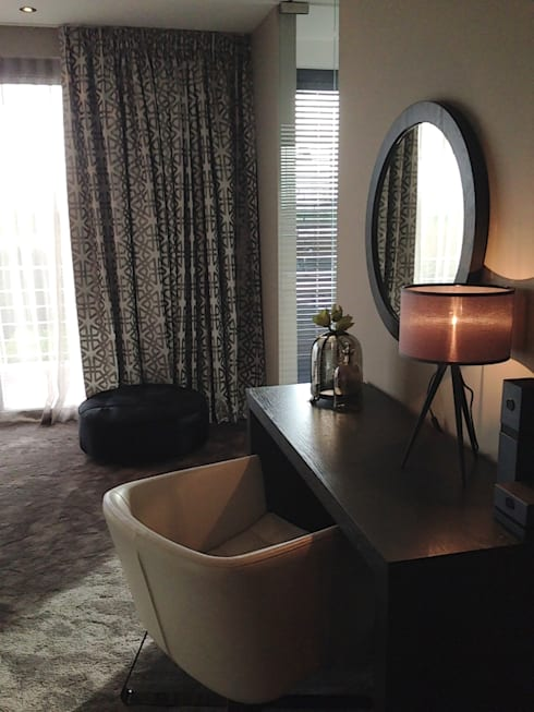 master bedroom :  Slaapkamer door choc studio interieur