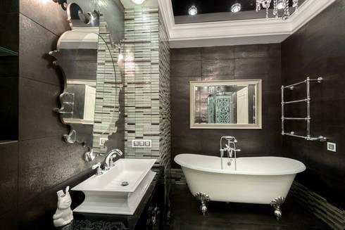 Квартира с лицом: Ванные комнаты в . Автор – Студия дизайна