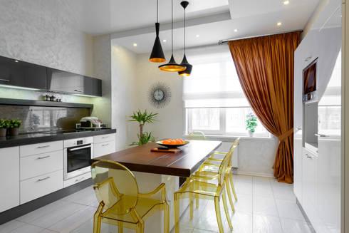 Квартира с лицом: Кухни в . Автор – Студия дизайна