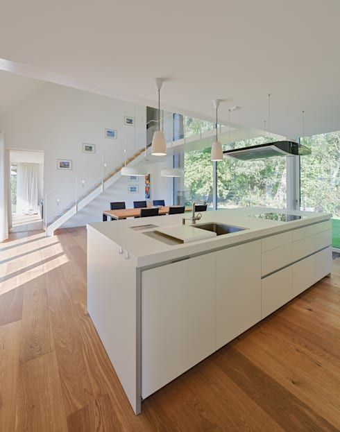 modern Kitchen by Möhring Architekten