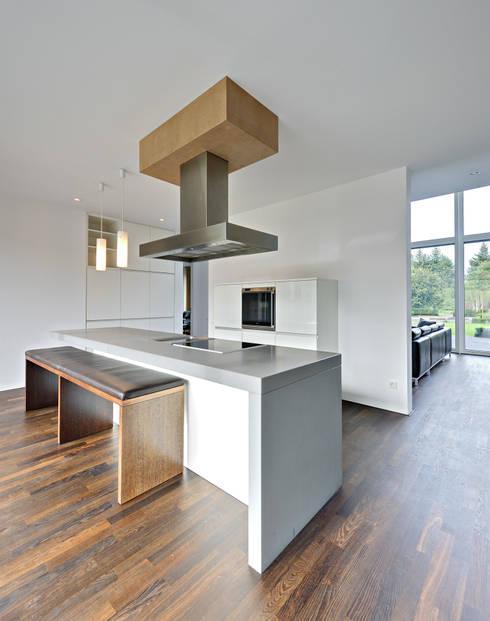 Projekty,  Kuchnia zaprojektowane przez Möhring Architekten