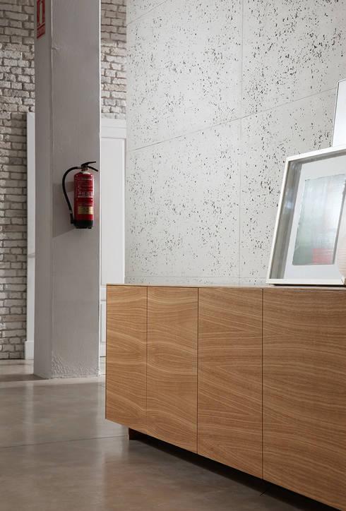 Panel piedra design de panelpiedra homify - Paneles imitacion piedra para interiores ...