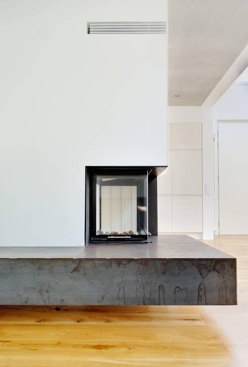 modern Living room by Möhring Architekten