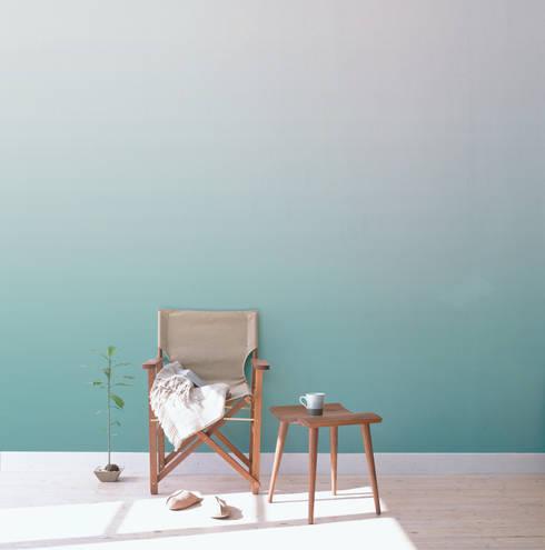 Papier peint Séraphine - Collection CELESTE: Murs & Sols de style de style Moderne par MUES design