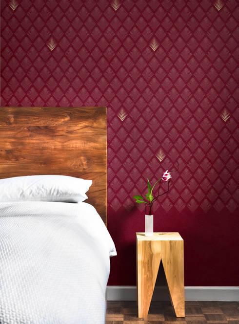 Papier peint Louison - Collection ANNEES FOLLES : Murs & Sols de style de style Moderne par MUES design