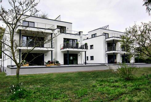 Stadtvillen dortmund kirchh rde von architekturb ro carsten voit homify - Architekturburo dortmund ...