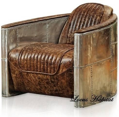 Arm chaor from Locus Habitat: classic Living room by Locus Habitat