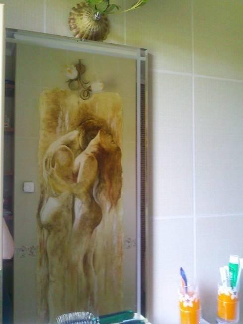 любовь: Ванные комнаты в . Автор – Абрикос