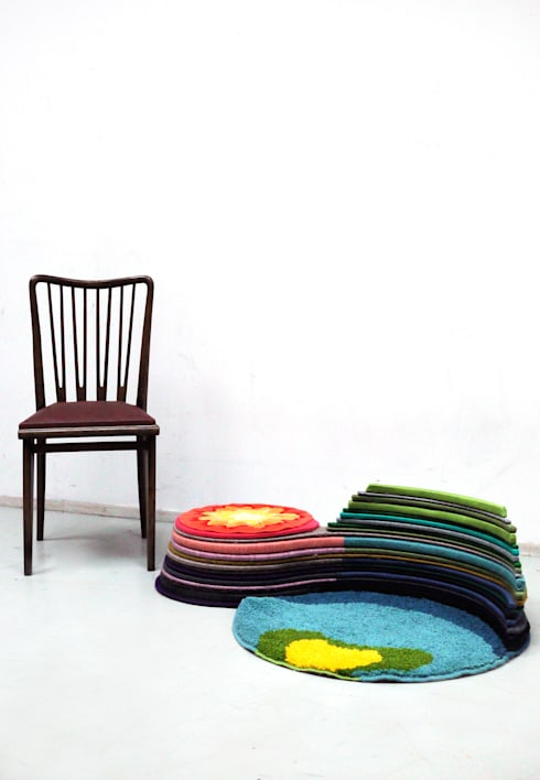 Carpet's Oasis: ATELIER JUNNNE의  거실