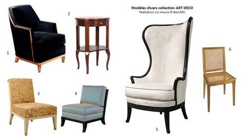 Ensemble de mobilier art deco par balcaen mobilier de for Salon art deco paris