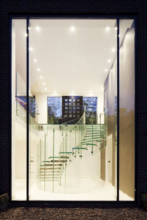 Siller Treppen/Stairs/Scale의  복도, 현관 & 계단