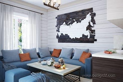 студия: Столовые комнаты в . Автор – студия Design3F