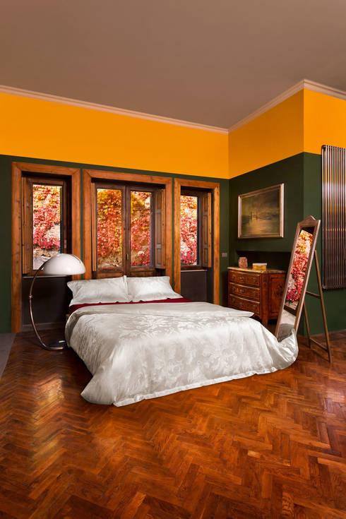 Copripiumino Lakmè: Camera da letto in stile  di Piumini Danesi