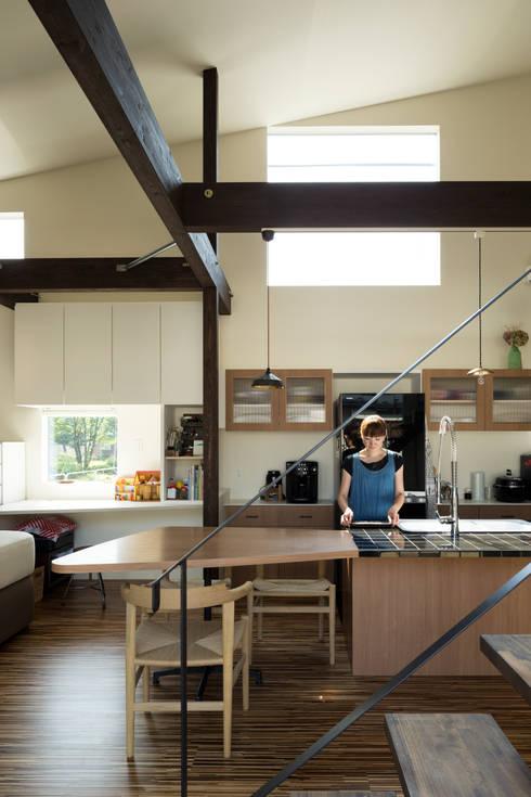 キッチン: 花田設計事務所が手掛けたキッチンです。