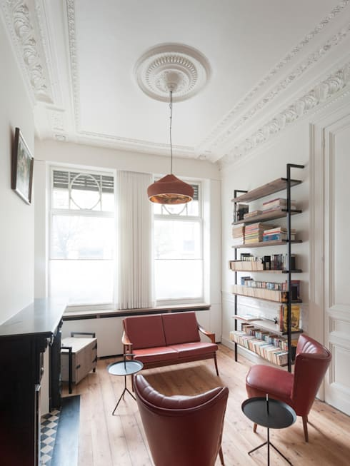 Salones de estilo minimalista de Robby Aerts