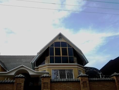 оформление фасада дома г Пятигорск: Дома в . Автор – Абрикос