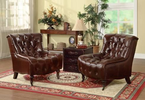 Professor Chair: classic Living room by Locus Habitat