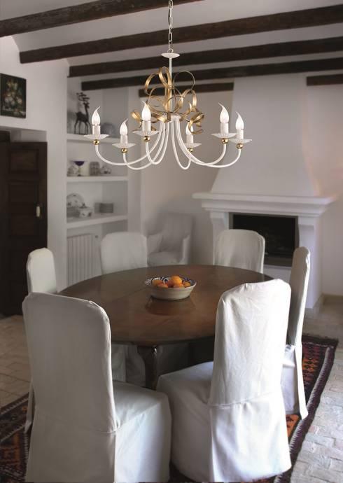 modern Dining room by Highlight Aydınlatma