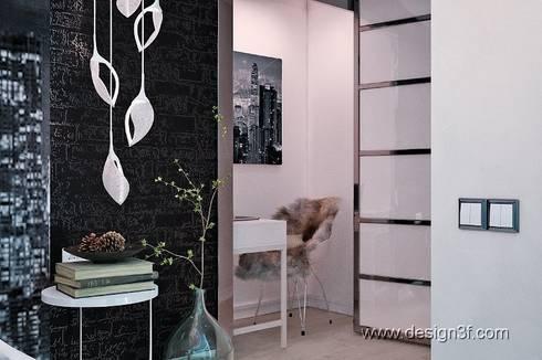 Спальня в стиле хай-тек, : Спальни в . Автор – студия Design3F