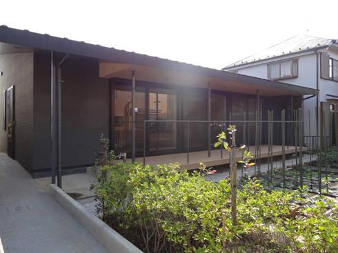 外観: 田所裕樹建築設計事務所が手掛けた家です。