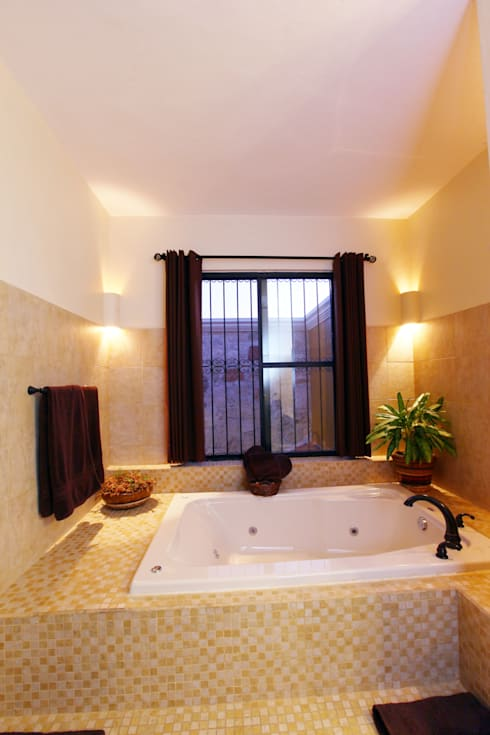 Arturo Campos Arquitectos:  tarz Banyo