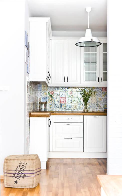 Cozinhas mediterrânicas por Miśkiewicz Design