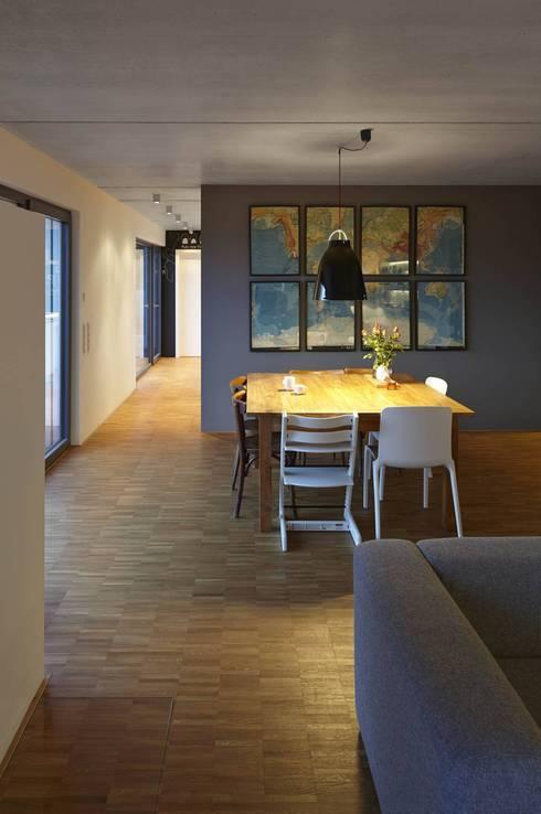 modern Dining room by Fachwerk4 | Architekten BDA