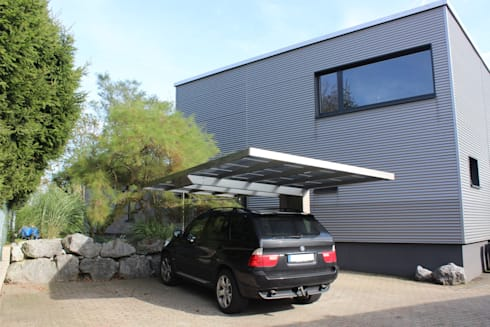 carports aus aluminium von di deutsche carportfabrik gmbh co kg homify. Black Bedroom Furniture Sets. Home Design Ideas