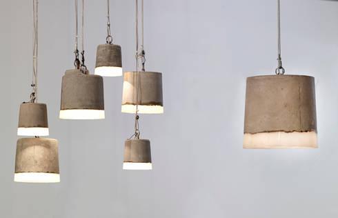 CONCRETE small, big, xl: industriële Keuken door RENATE VOS product & interior design