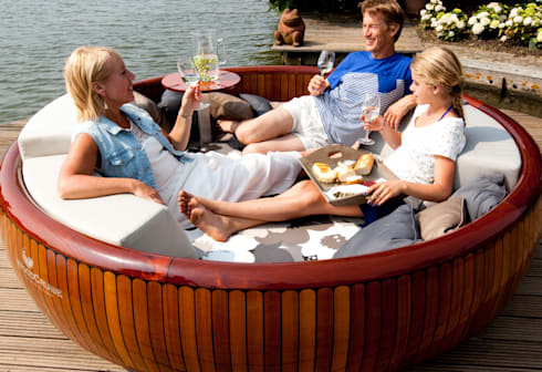 WoodCruise loungen: klasieke Tuin door WoodCruise
