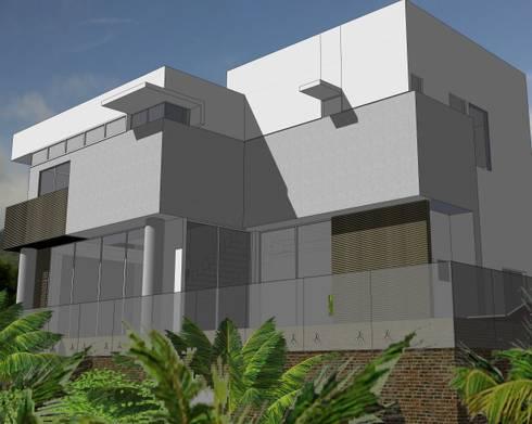 Residência Haras Rio d'ouro - B: Casa  por Canisio Beeck Arquiteto