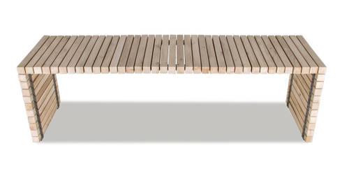 Table Balken : modern Balkon, veranda & terras door VanJoost