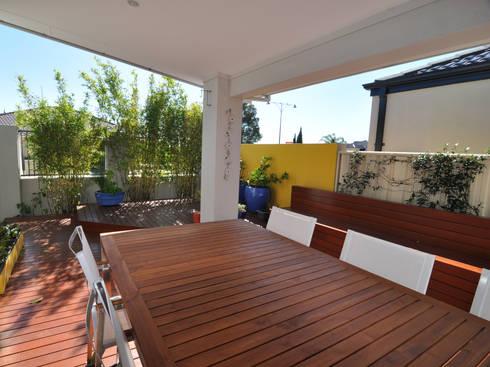 Perth 10 Alfresco:  Terrace by Natasha Fowler Design Solutions
