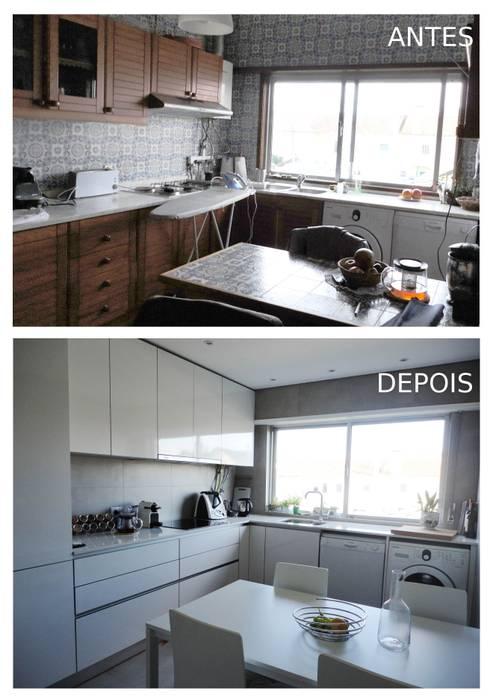 Cozinha:   por GAAPE - ARQUITECTURA, PLANEAMENTO E ENGENHARIA, LDA