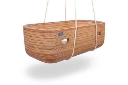 Cradle Noach: moderne Kinderkamer door VanJoost