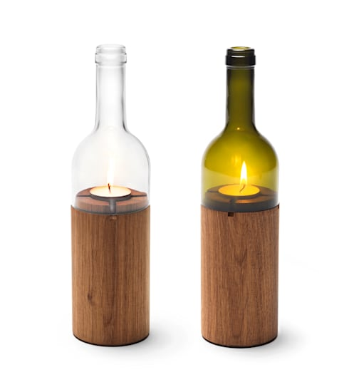 Weinlicht: skandinavische Esszimmer von Jette Scheib Design
