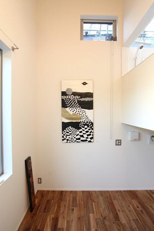 マルコビッチな家: SASAKI YOSHIKI ARCHITECTS STUDIOが手掛けた和室です。