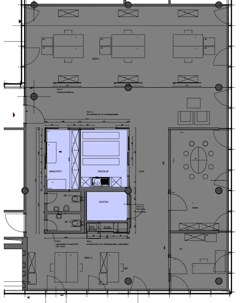 agentur bamberg, heilbronn von schaich/innenarchitektur | homify, Innenarchitektur ideen