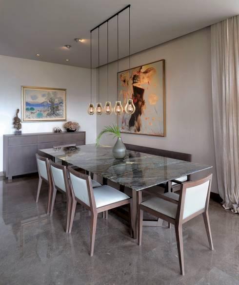 Paker Mimarlık – ÇUBUKLU B17: modern tarz Yemek Odası