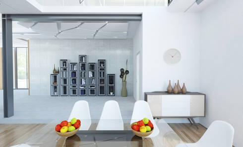 Частная вилла: Столовые комнаты в . Автор – Diamir Interiors
