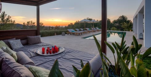 Ibiza Style: eclectisch Zwembad door Kabaz