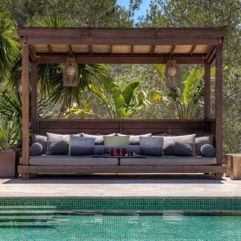 Ibiza Style: eclectische Tuin door Kabaz