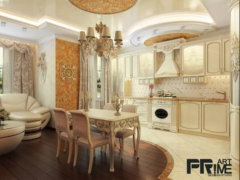 Квартира-студия  классика: Столовые комнаты в . Автор – 'PRimeART'
