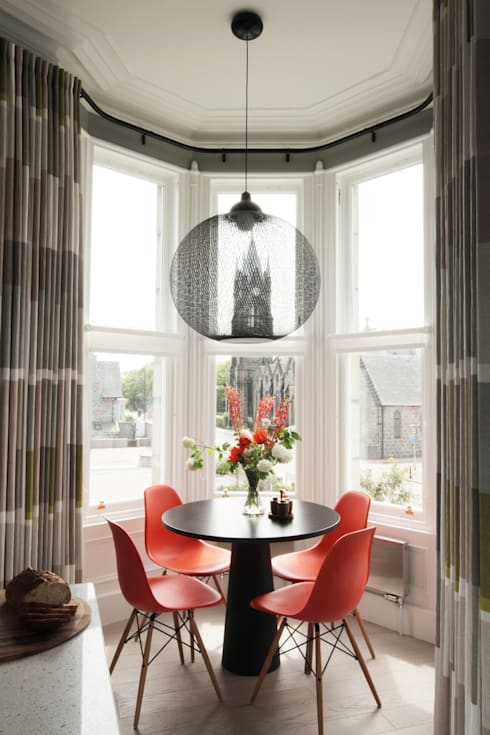 modern Dining room by ABN7 Architects