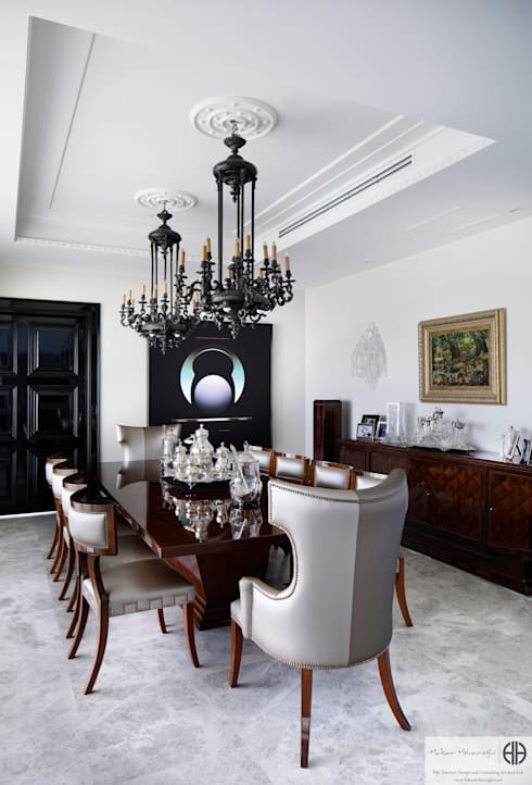 eclectic Dining room by homify