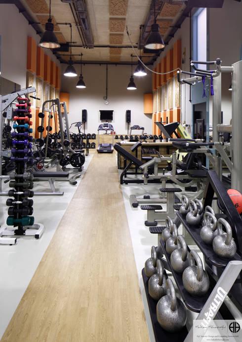 homify: eklektik tarz tarz Fitness Odası