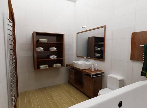 bathroom design:  в . Автор – Murat Sabekov