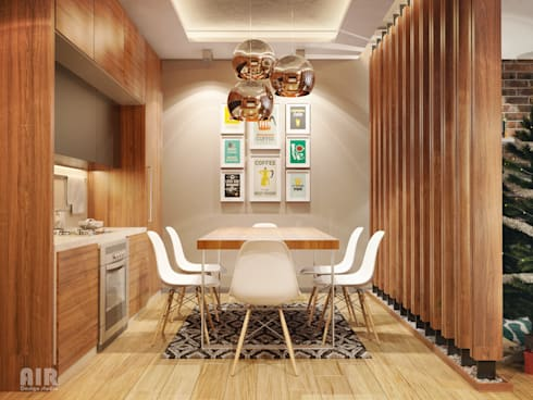 Кухня:  в . Автор – AIR Design